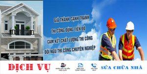 Dịch vụ sửa nhà trọn gói tại TPHCM uy tín