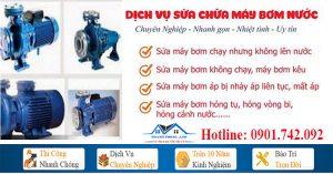 Thợ sửa máy bơm nước tại nhà quận Tân Phú
