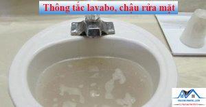 Thông tắc lavabo, chậu rửa mặt
