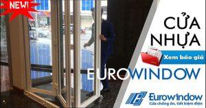 Báo giá thi công làm cửa nhựa lõi thép eurowindow