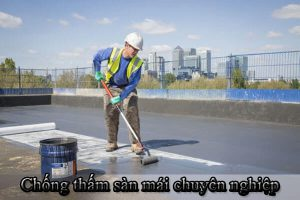 Chống thấm sàn mái chuyên nghiệp - uy tín - giá rẻ tại TP.HCM