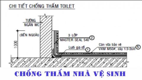 Chống thấm nhà vệ sinh Tphcm, Bình Dương, Đồng Nai, Vũng Tàu, Hà Tĩnh