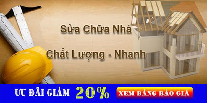 Dịch vụ chuyên nhận sửa chữa nhà Biên Hòa giá rẻ