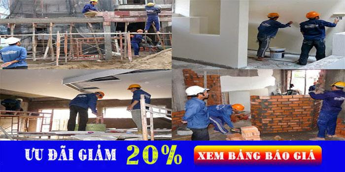 Dịch vụ chuyên nhận sửa chữa nhà tại Dĩ An giá rẻ