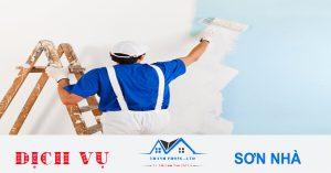 Thợ sơn nhà chuyên nghiệp tại quận 4