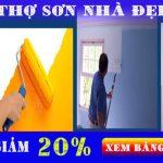 Thợ sơn nhà chuyên nghiệp tại quận 5
