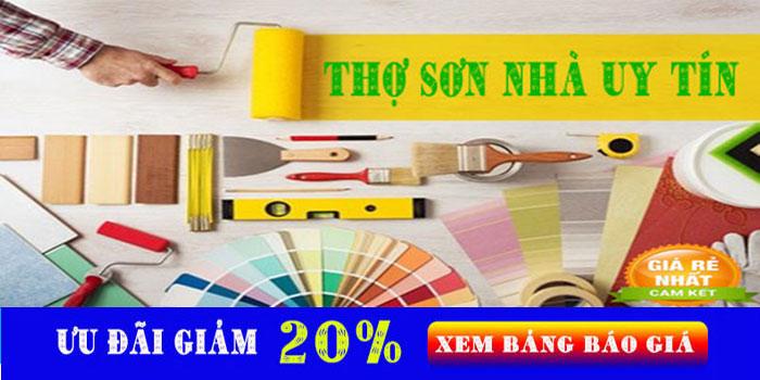 Thợ sơn nhà chuyên nghiệp tại quận 6 uy tín