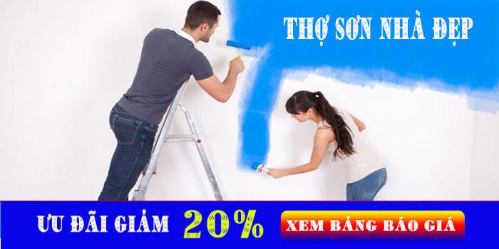 Thợ sơn nhà chuyên nghiệp tại quận 7
