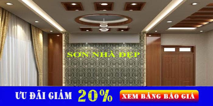 Thợ sơn nhà chuyên nghiệp tại quận Tân Phú đẹp