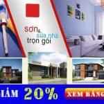 Thợ sơn nhà chuyên nghiệp tại quận Gò Vấp giá rẻ