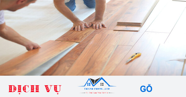 Báo giá thi công làm sàn gỗ