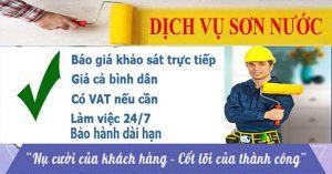 Dịch vụ thợ thi công sơn nước