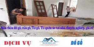 Sửa chữa đồ gỗ, cửa gỗ, Tủ gỗ, Tủ quần áo tại nhà chuyên nghiệp, giá rẻ