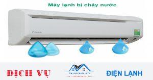 Sửa máy lạnh bị chảy nước