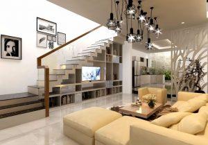 Cửa phòng ngủ có nên đối diện với cầu thang không? Cách hóa giải?