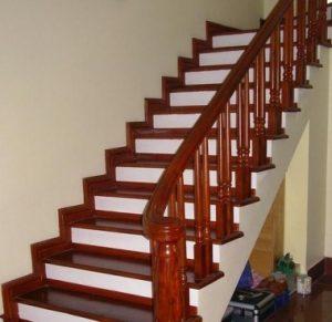Báo giá làm cầu thang gỗ đẹp