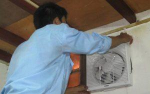 Lắp đặt sửa chữa quạt thông gió quạt hút