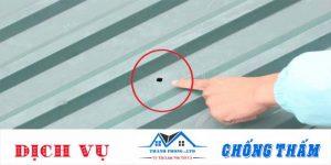 Cách xử lý mái tôn, Mái nhà bị dột đơn giản, hiệu quả triệt để 100%