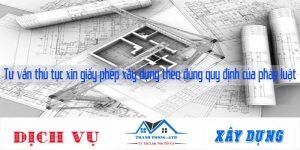 Tư vấn thủ tục xin giấy phép xây dựng theo đúng quy định của pháp luật